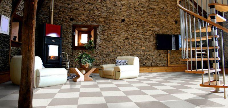 Nevýhody dlaždicových podlah