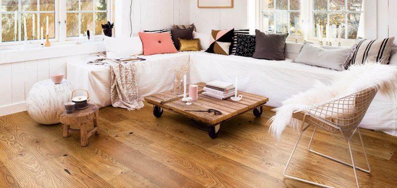 Nejvhodnější dřevěné podlahy pro rodiny s dětmi