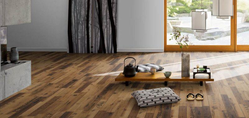 Barvy dřevěných podlah