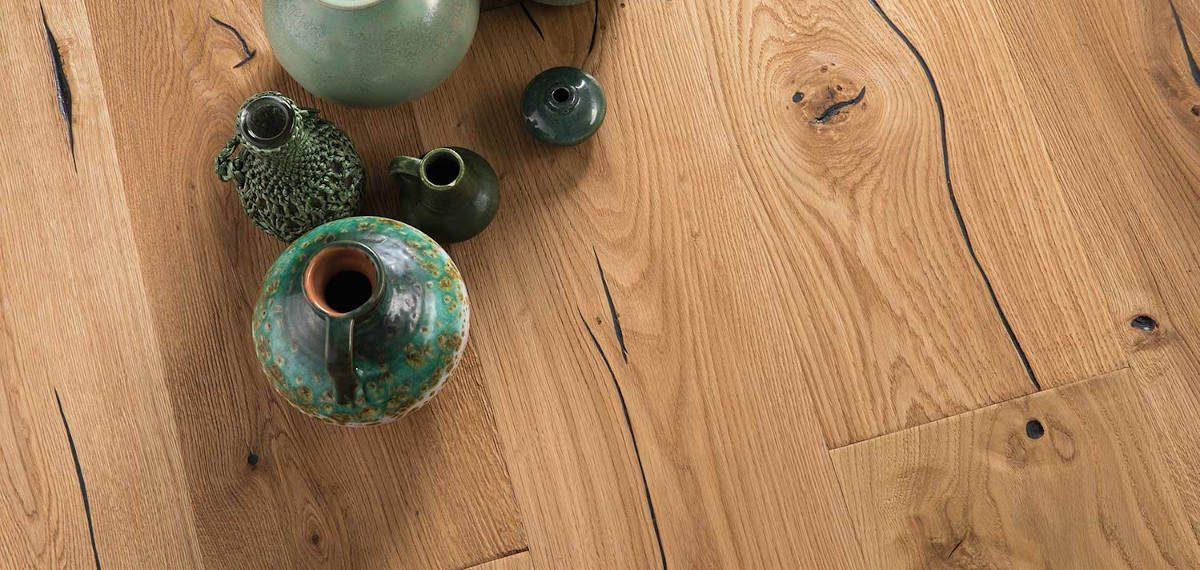 Prkenné podlahy na chatě a v chalupě