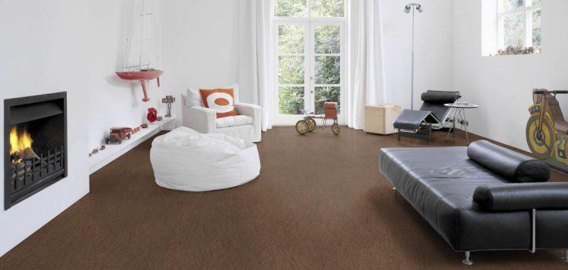 Korkové podlahy a podlahové vytápění