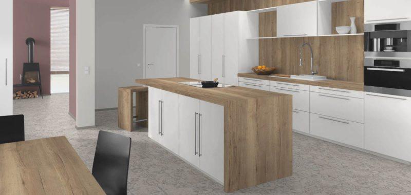 Možnosti výběru podlahy do kuchyně