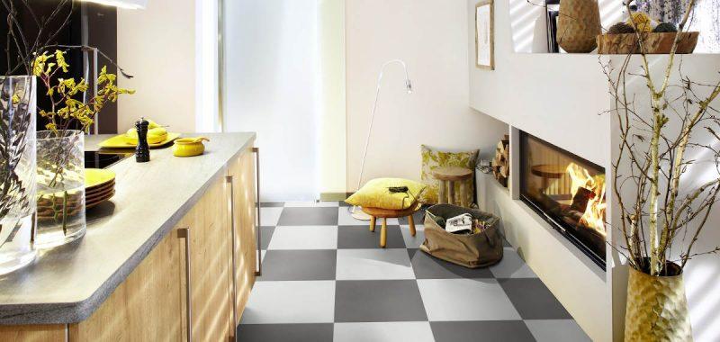 Různé typy dlaždic do kuchyně